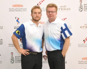Joonas Jehkinen and Kimmo Lehtonen of Finland led first squad of the Doubles event