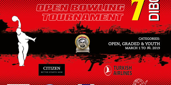 7th DIBC Open Bowling Tournament 2019