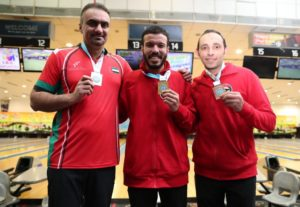 Men's Singles Medallists