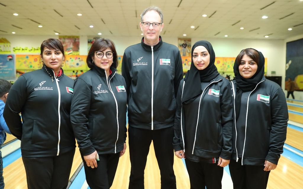 UAE Ladies with Coach Mika